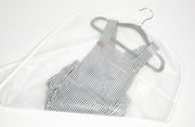 Gray Summer baby bodysuit