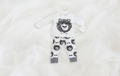 Daryl Shirt and Pants Baby Set