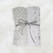 Set of 2 Muslin Swaddle