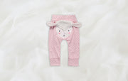 Pinkie Pink 100% cotton Baby pants