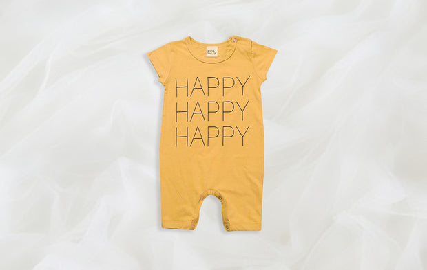 Joy 100% Cotton Baby Romper