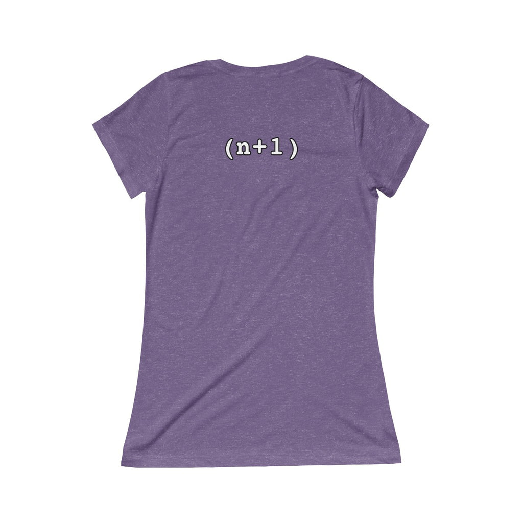 N+1 - Women's - Triblend Short Sleeve Tee