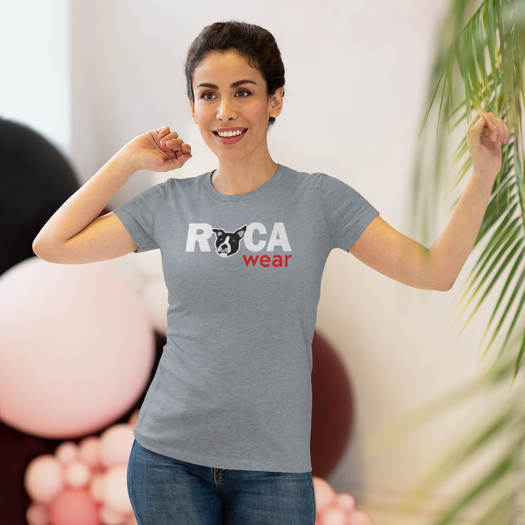 Ruca Wear Official Logo Tee | Women's Jersey Short Sleeve Triblend Tee