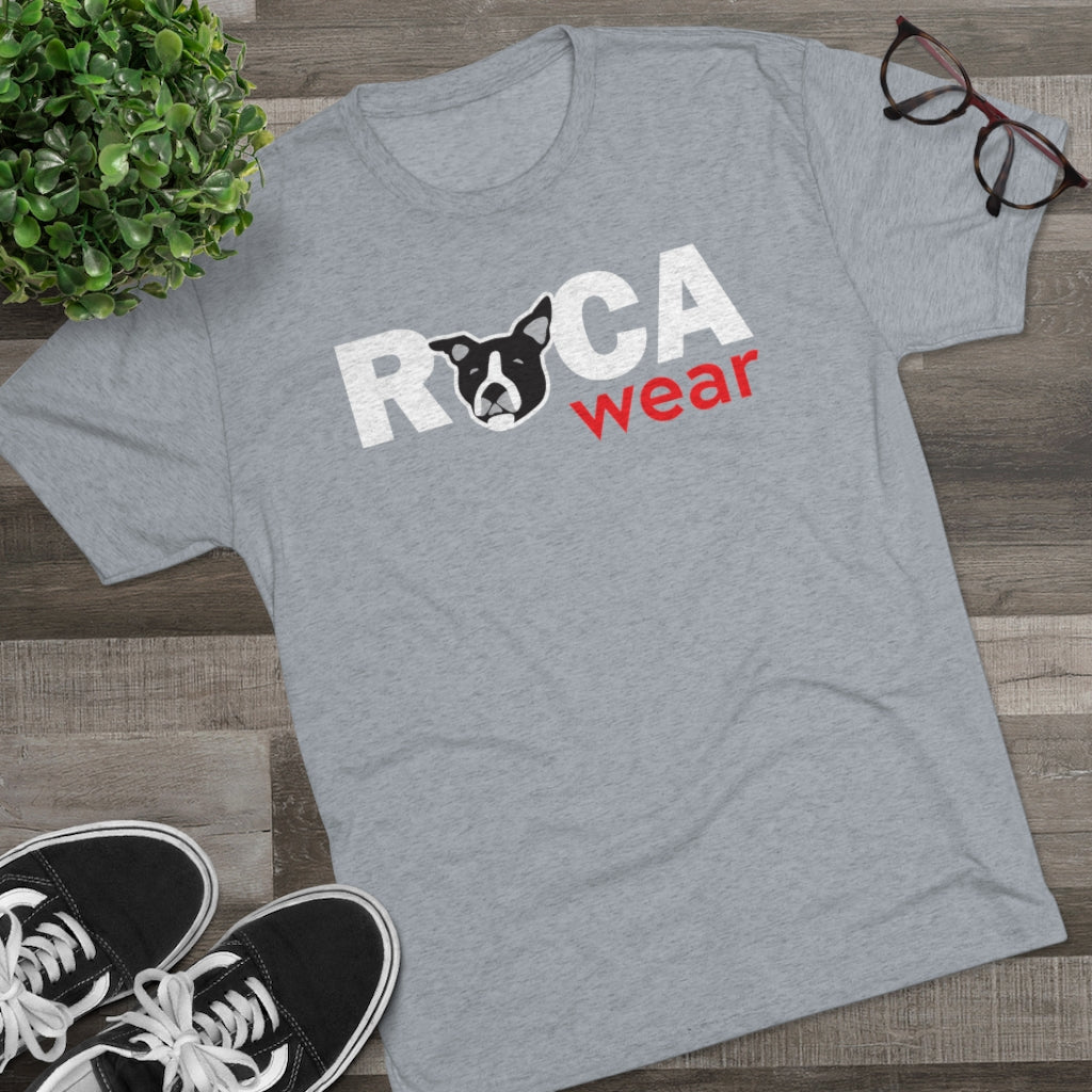 Ruca Wear Official Logo Tee | Men's Triblend Short Sleeve Tee