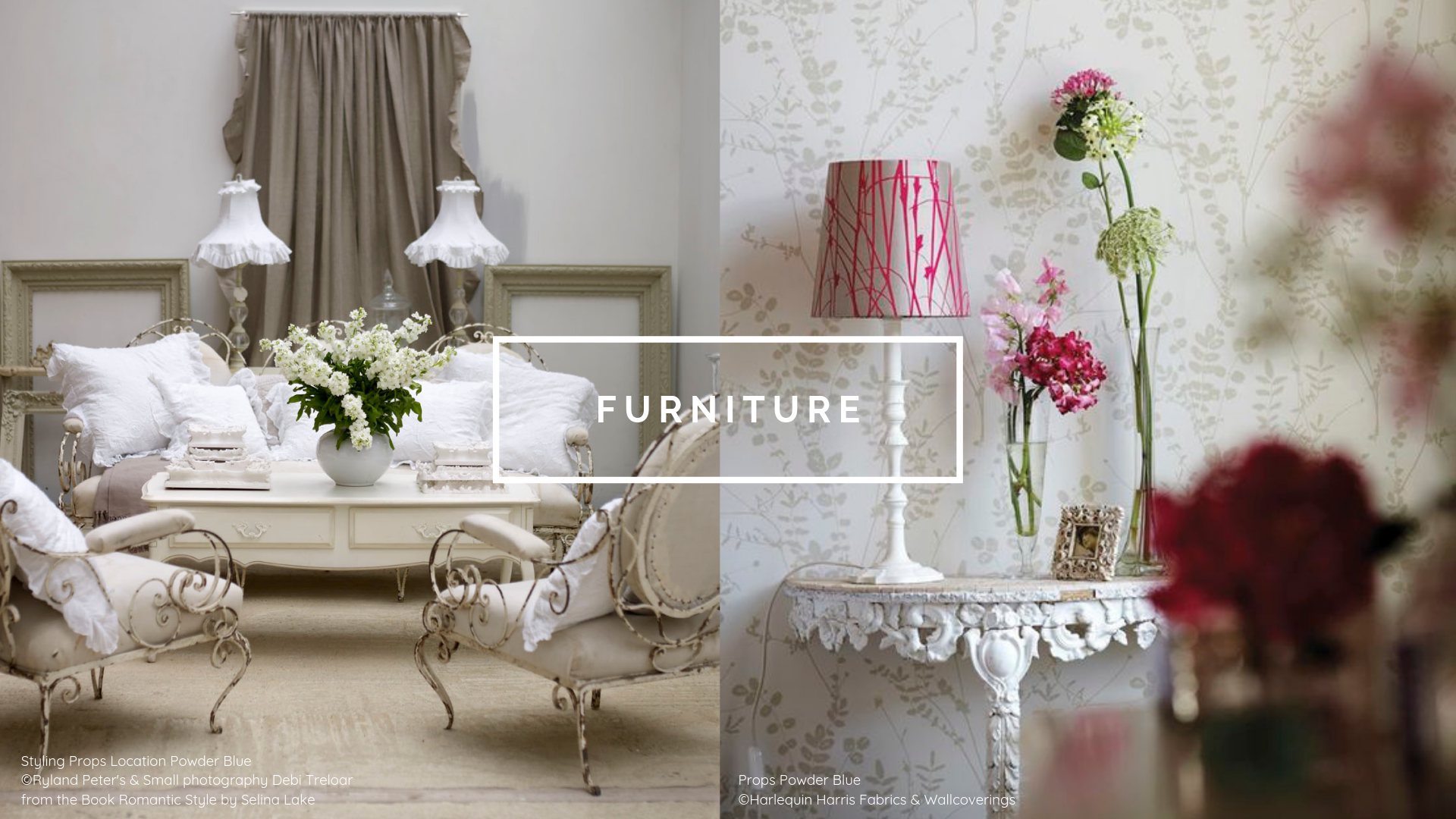 Furniture Prop Hire