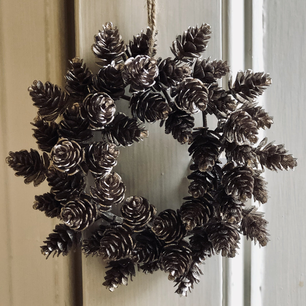 Mini Cone Pine Wreath