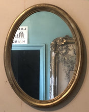 Load image into Gallery viewer, Gilt Oval Mirror