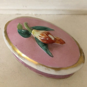 Flower Bud Trinket Box