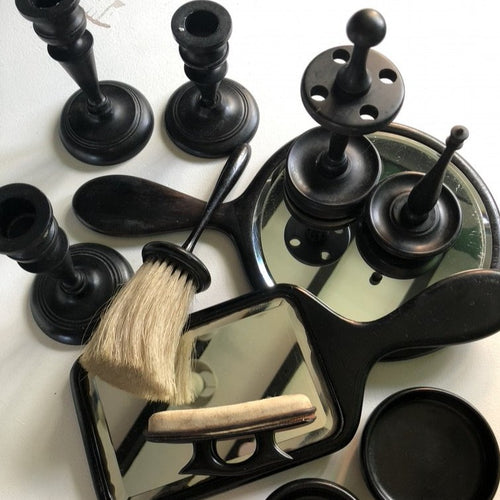 Ebony Dressing Table Set