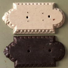Load image into Gallery viewer, Carved wooden door finger plates 3