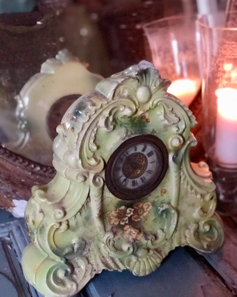 Ceramic Mantle Clock