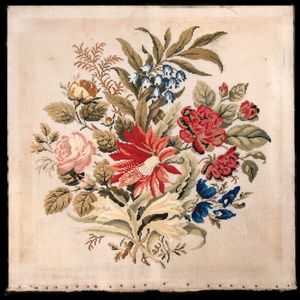 Antique Floral Tapestry