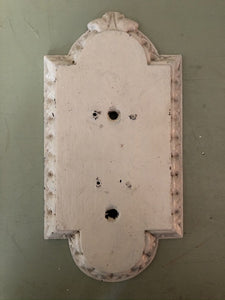 Carved wooden door finger plates A
