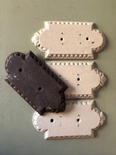 Load image into Gallery viewer, Carved wooden door finger plates 1