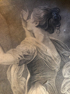 The Bride - Engraving by Sir Joshua Reynolds detail