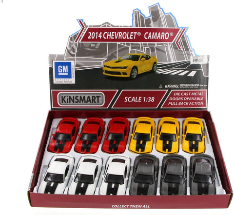 Diecast | 2014 Chevy Camaro | Assorted Colors