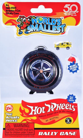 World's Smallest | Hot Wheels Rally Case