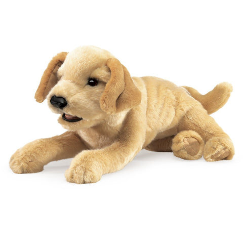 Folkmanis Yellow Lab Puppy Puppet