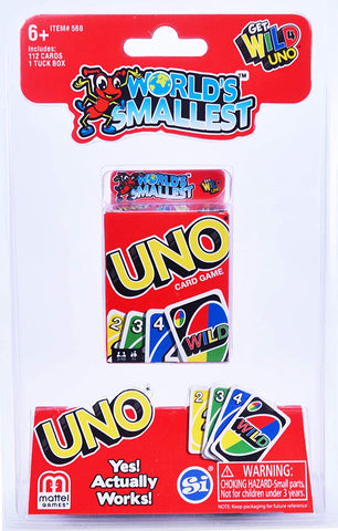 World's Smallest | Uno Card Game