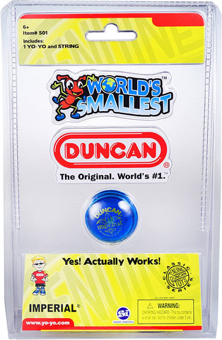 World's Smallest | Duncan Yo Yo