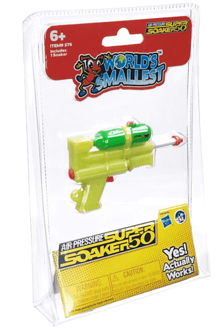 World's Smallest | Super Soaker
