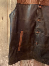 Load image into Gallery viewer, Reders Leather Vest