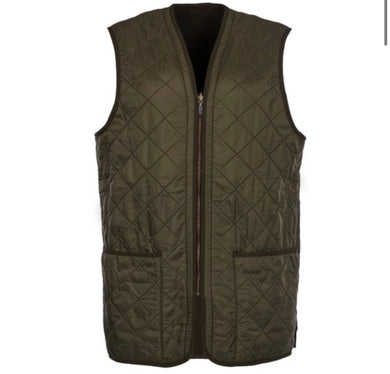 Barbour Quilted Zip-in Liner