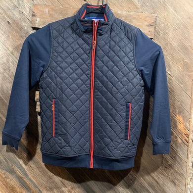 Quilted Collegiate Jacket