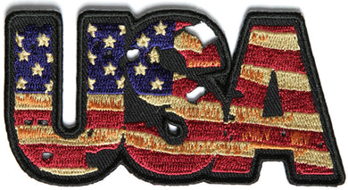 USA Vintage Patch Flag Patch
