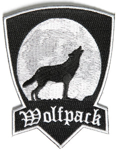 Wolfpack Patch With Howling Wolf
