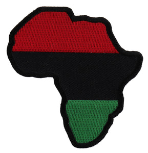 African Map Patch