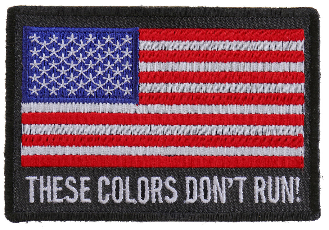 These Colors Don't Run US Flag Patch