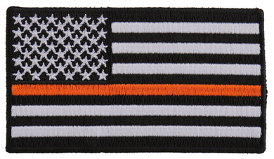 Thin Orange Line American Flag For Search & Rescue