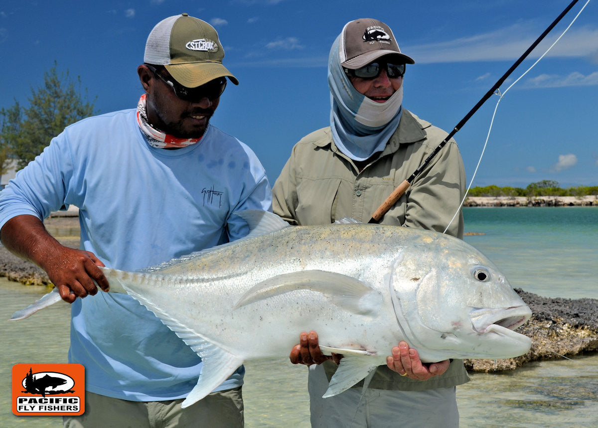 Christmas Island Giant Trevally Fly Fishing