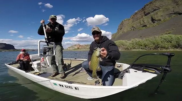Video fly fishing for smallmouth bass pacific fly fishers for Banks lake fishing