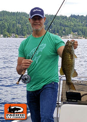 Fly Fishing Lake Washington for Smallmouth Bass