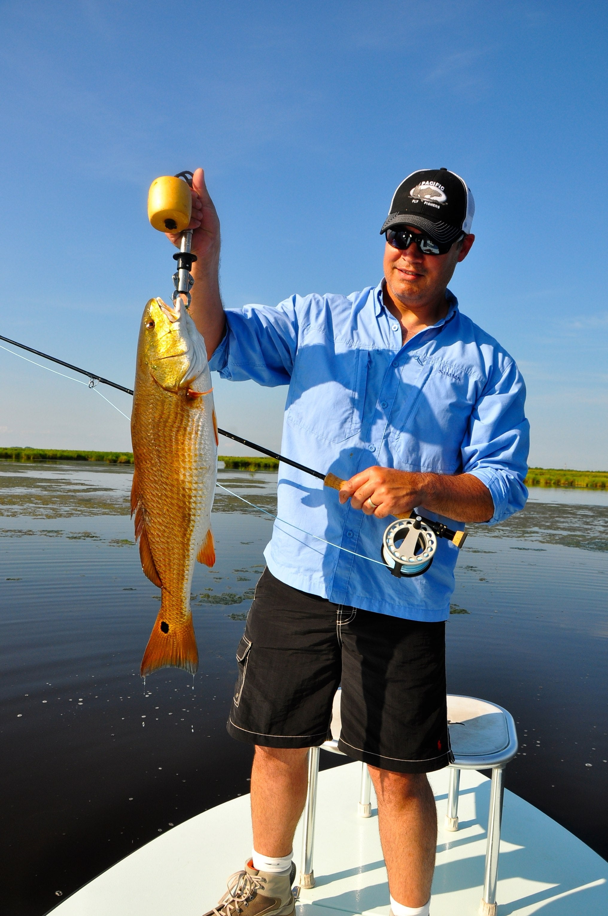 New Orleans Redfish Fly Fishing