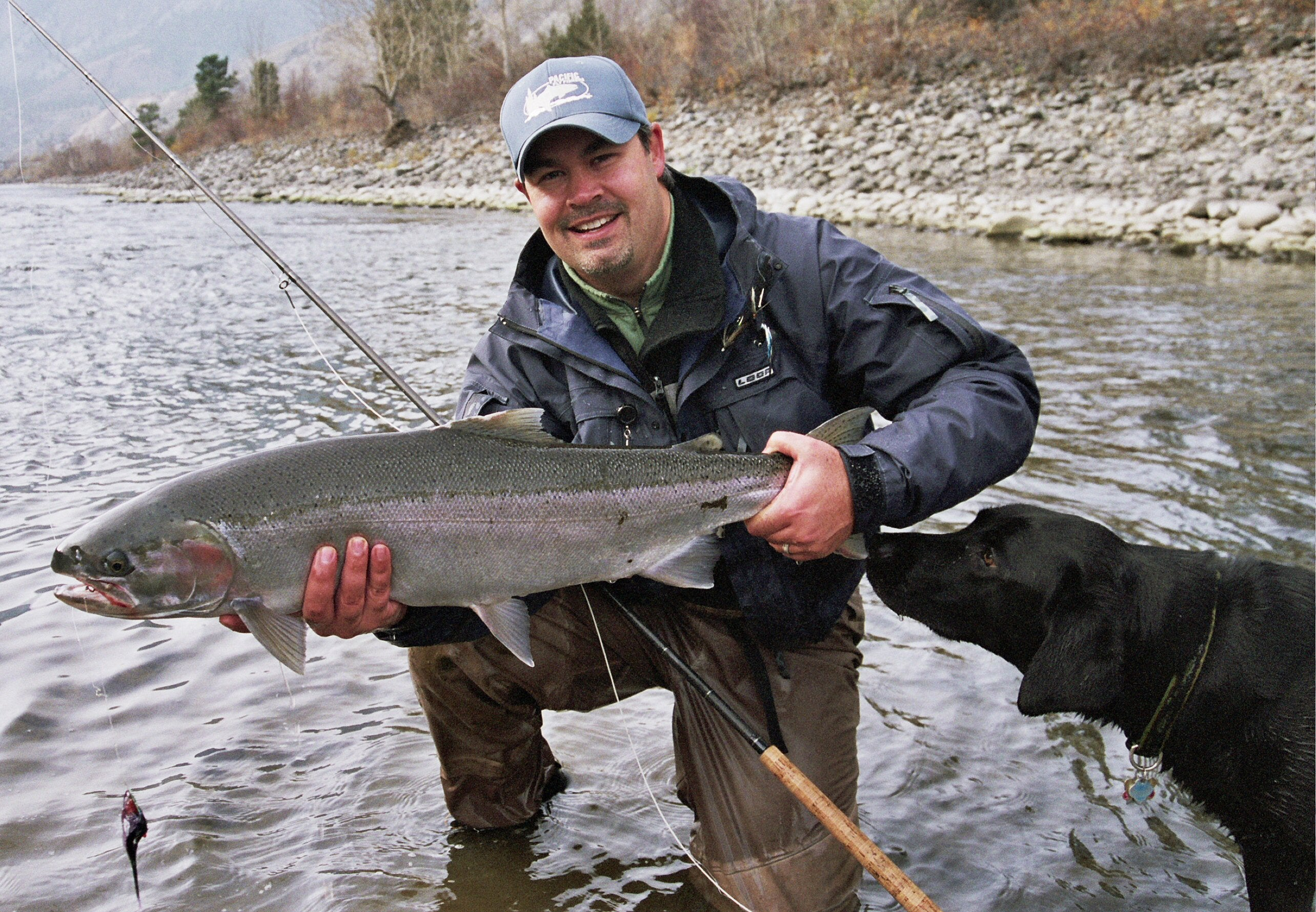 Thompson River B.C. Steelhead Fly Fishing