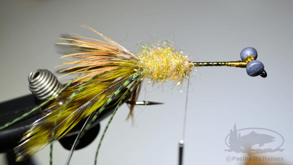 Step 10:  How to Tie the Mega Craw Crawdad Bass Fly