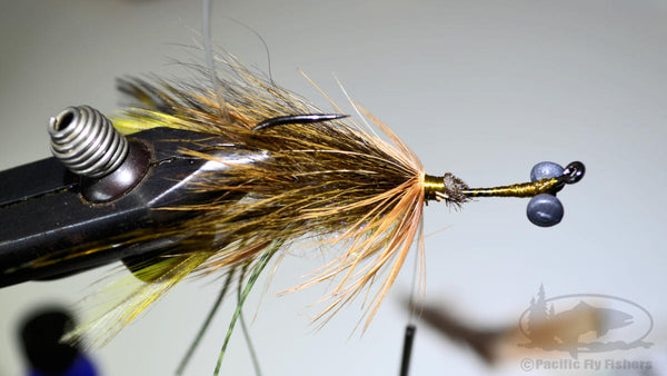 Step 12:  Pattern Recipe and Instructions for tying the Mega Craw Bass Fly