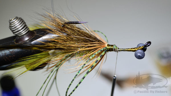 Step 13:  Tying Instructions for the Mega Craw Crayfish Bass Fly