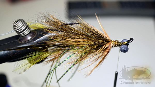 Step 16:  Tying Instructions and Pattern Recipe for Bennett's Mega Craw