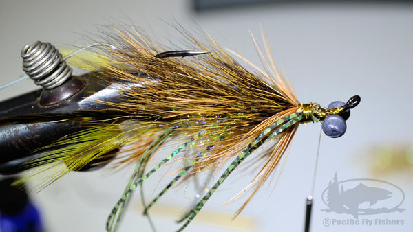 Step 16:  Bennett's Mega Craw Crayfish Bass Fly