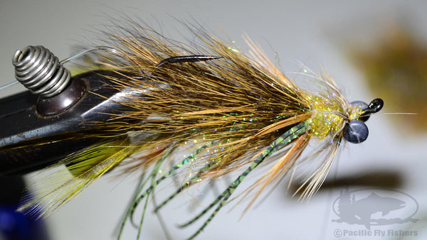 Step 19:  Pattern Recipe and Tying Instructions - Bennett's Mega Craw