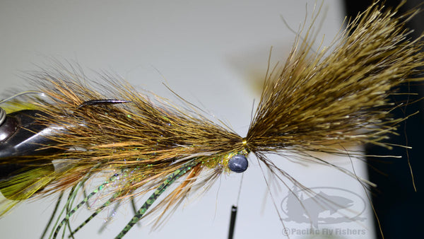 Step 20:  Bennett's Mega Craw Crayfish Bass Pattern