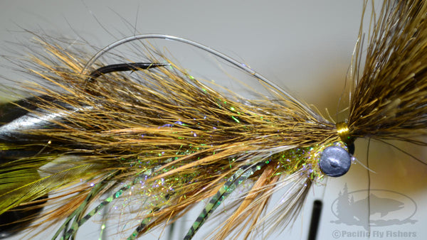 Step 22:  Tying Instructions - The Mega Craw Bass Fly