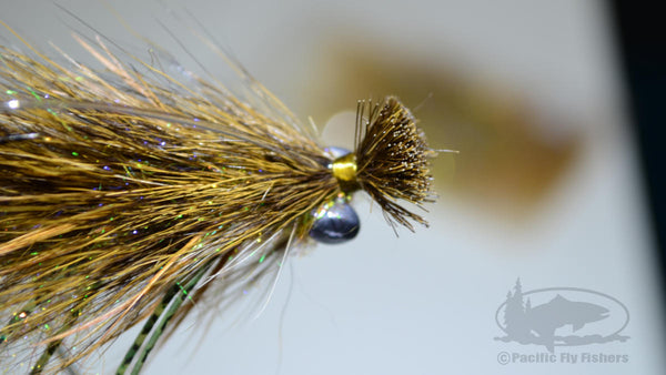 Step 23:  Tying the Mega Craw Bass Fly