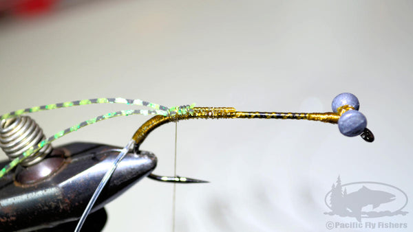 Tying the Bennett's Mega Craw Bass Fly
