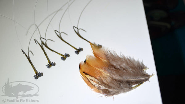 Step 5:  Tying the Mega Craw Crawdad Bass Fly