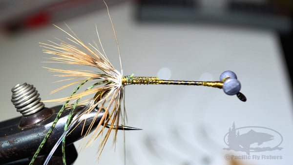Step 7:  Tying the Mega Craw Crayfish Bass Fly